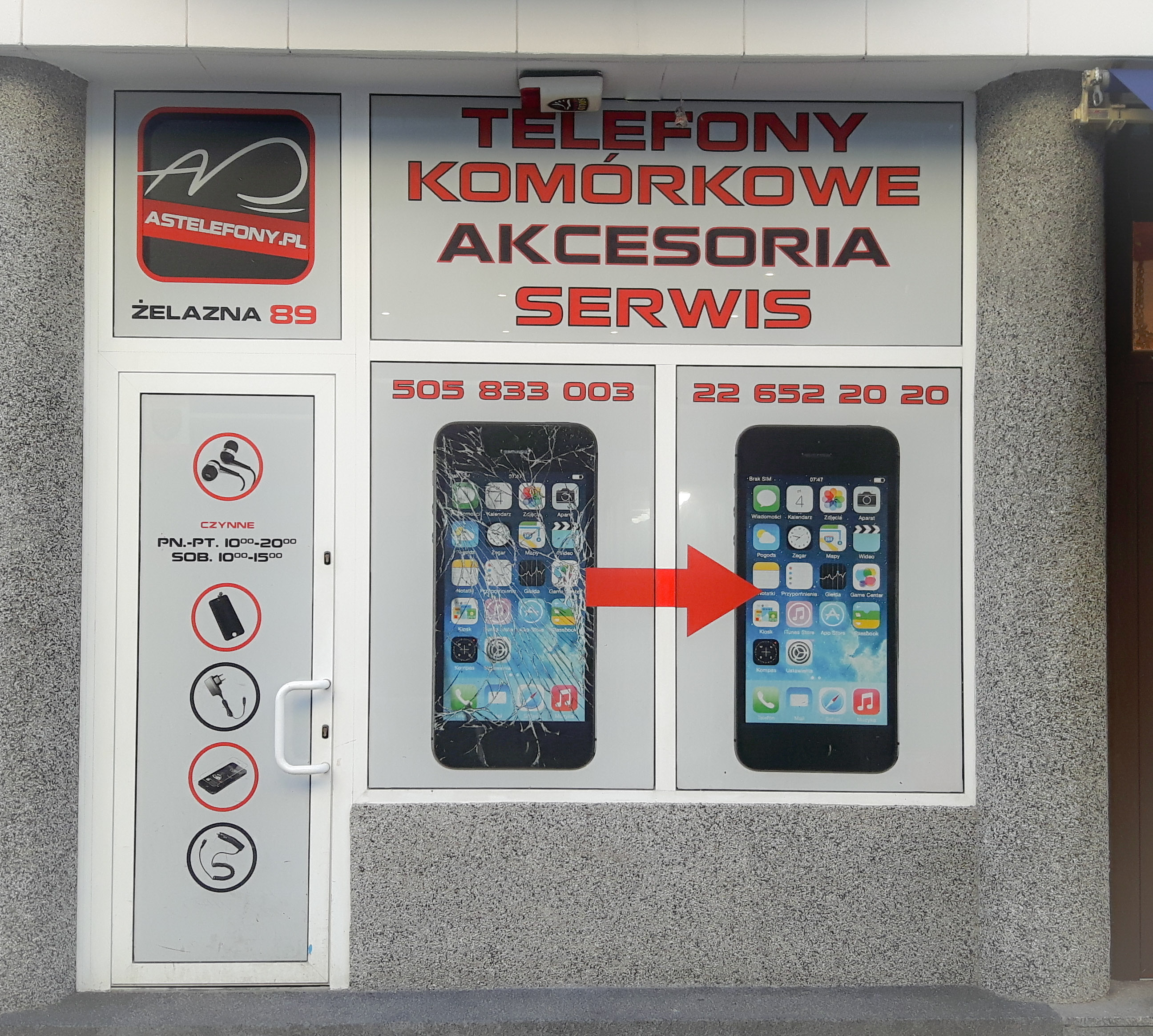 naprawa smartfonów Warszawa